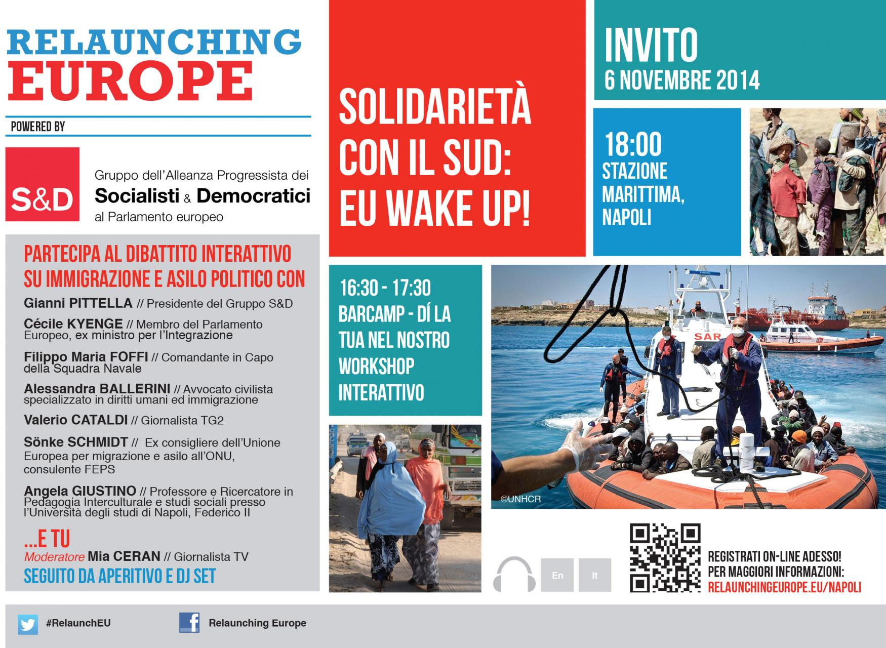 Relaunching Europe Naples 6/11/14