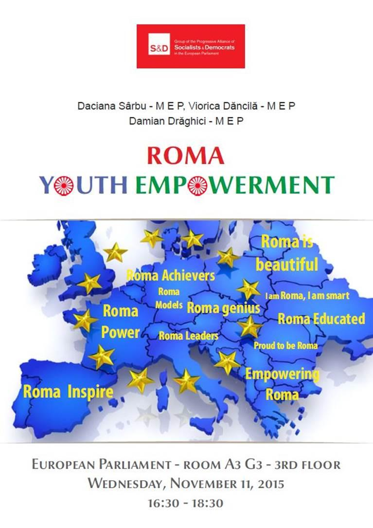 S&D Group Conference: Roma Youth Empowerment