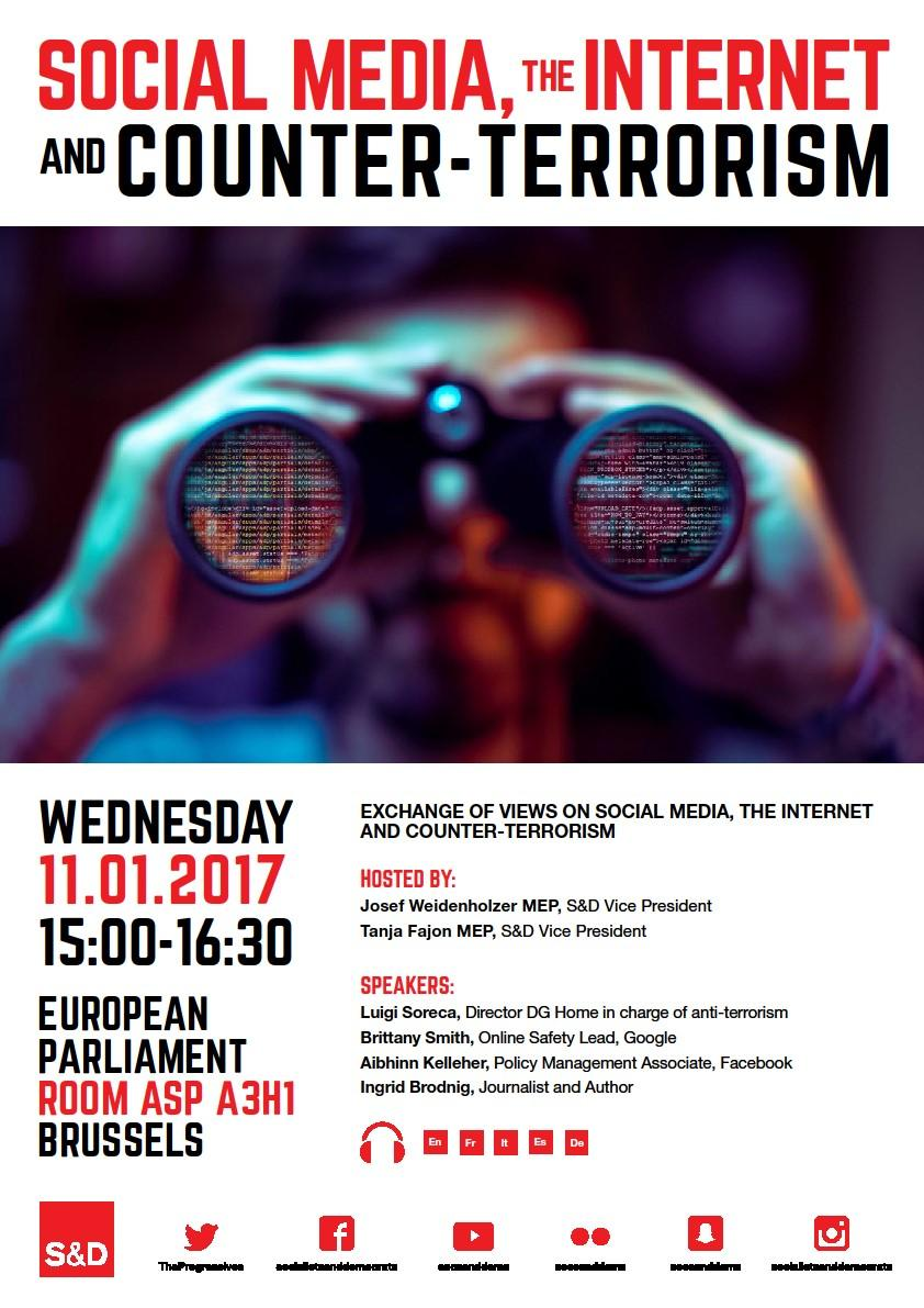 Exchange of views: Social Media, the Internet and Counter-Terrorism