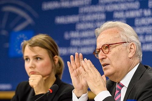 Hannes Swoboda, Europe back to work press conference