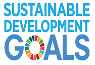 UN logo and sustainable development goals