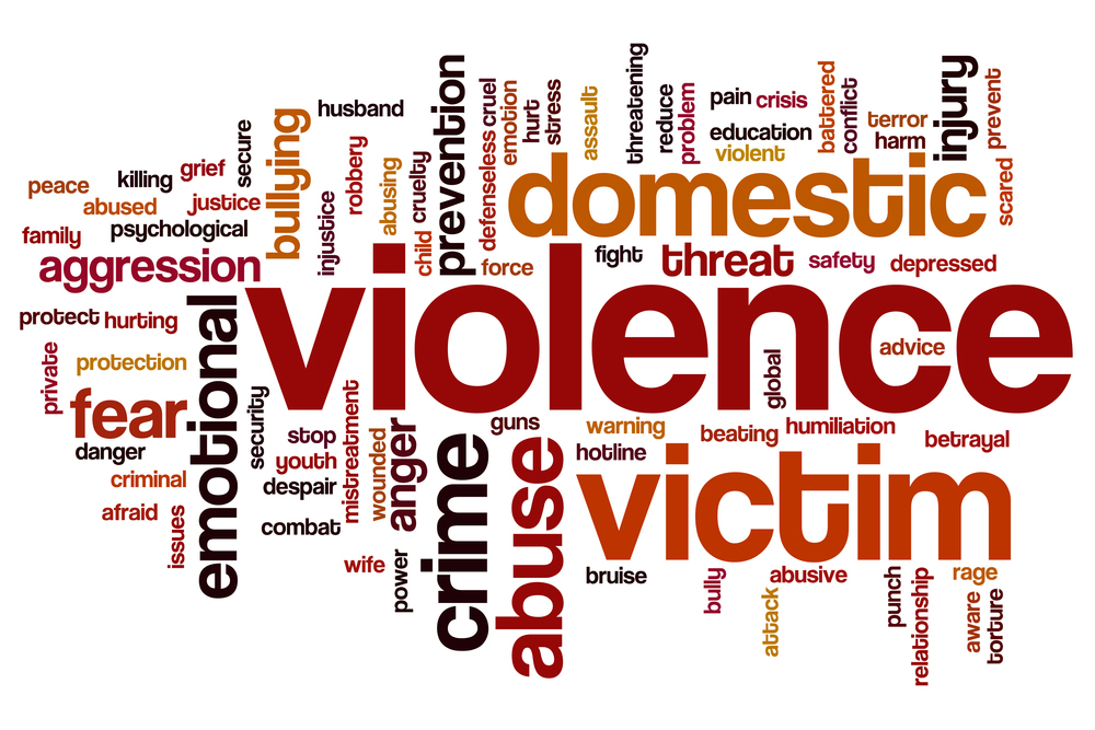Words about victims of violence and crime