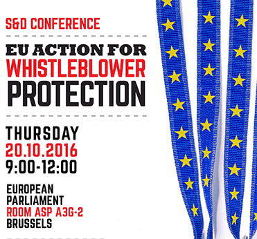 Europe needs harmonised rules to protect whistle-blowers, #TaxJustice, Evelyn Regner, Pervenche Berès, LuxLeaks and the Panama Papers,