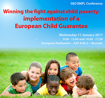 S&D Conference - Winning the Fight Against Child Poverty: Implementation of a European Child Guarantee