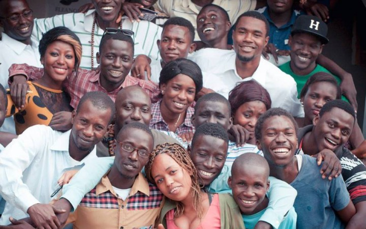 youth in The Gambia