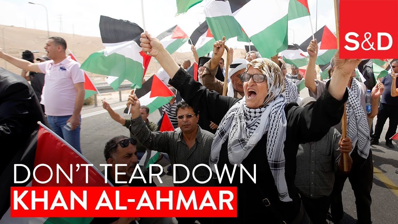Embedded thumbnail for Respect human rights, don't tear down Khan al-Ahmar