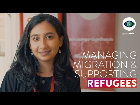 Embedded thumbnail for Together in Hamburg | Managing migration & supporting refugees in a globalised world