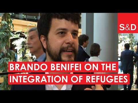 Embedded thumbnail for Brando Benifei on the Integration of Refugees | #EPlenary