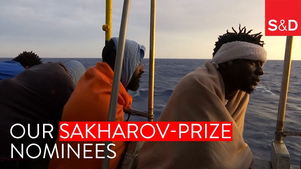 Embedded thumbnail for Our Sakharov Prize nominees