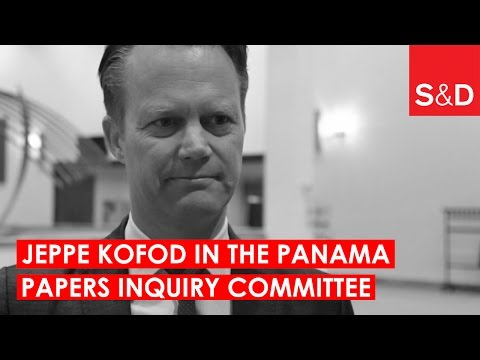 Embedded thumbnail for Jeppe Kofod on the Role of Intermediaries | Panama Papers Inquiry Committee