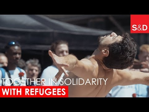 Embedded thumbnail for S&D, Together in Solidarity: Ahmad Joudeh's Dance for Peace on UN World Refugee Day