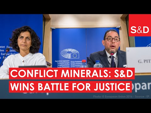 Embedded thumbnail for  Conflict minerals: S&Ds have won a battle for justice