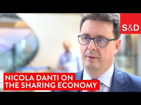 Embedded thumbnail for Nicolas Danti on the Sharing Economy