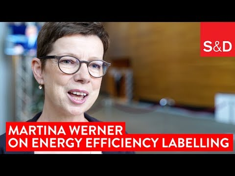 Embedded thumbnail for Martina Werner on Energy Efficiency Labelling