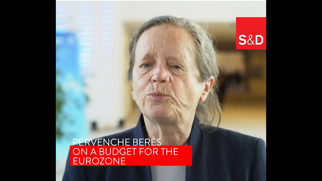 Embedded thumbnail for Pervenche Berès on the importance of a Eurozone Budget
