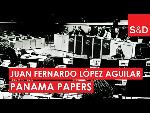 Embedded thumbnail for  Juan Fernando López Aguilar on Panama Papers