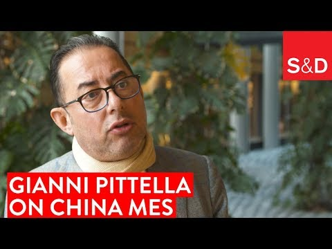 Embedded thumbnail for Gianni Pittella on China Market Economy Status