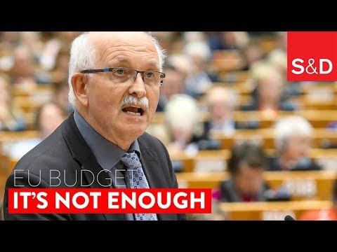 Embedded thumbnail for S&D president Udo Bullmann on the #EUBudget  #MFF