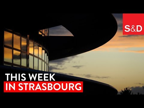 Embedded thumbnail for This Week in Strasbourg | Whistleblowers, Workers' Rights, Glyphosate, EU Budget and More...