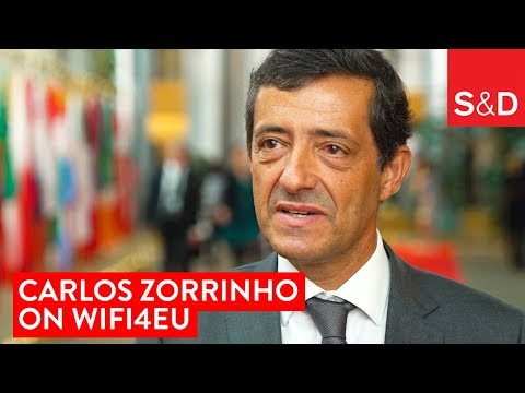 Embedded thumbnail for Carlos Zorrinho on the Promotion of Internet Connectivity | #Wifi4EU