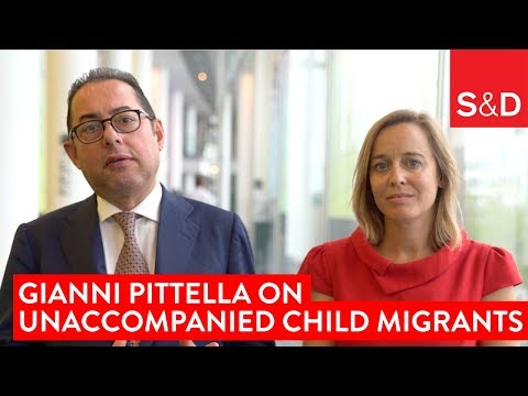 Embedded thumbnail for Gianni Pittella on Unaccompanied Child Migrants