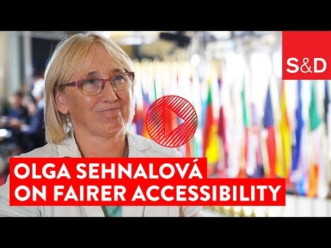 Embedded thumbnail for Olga Sehnalová on Fairer Accessibility
