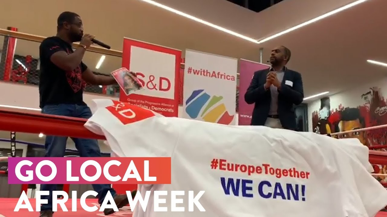 Embedded thumbnail for S&Ds Go Local in Brussels during the Africa Week