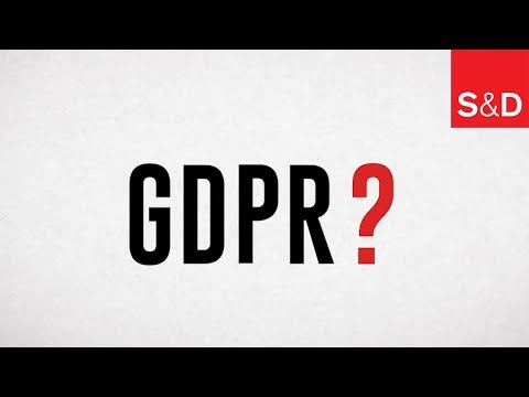 Embedded thumbnail for GDPR