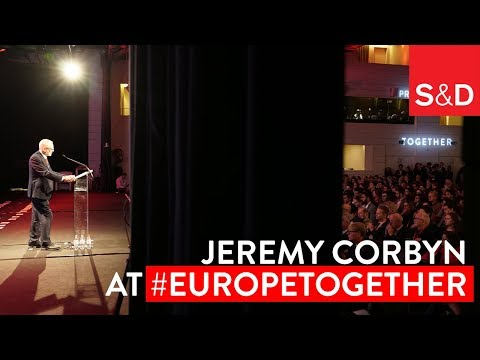 "Embedded thumbnail for Together in Brussels | ""The Neoliberal Economic Model is Broken"" Jeremy Corbyn"