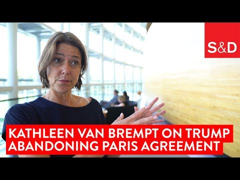 Embedded thumbnail for Kathleen Van Brempt on Trump's Withdrawal from the Paris Agreement