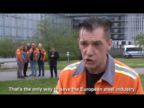 Embedded thumbnail for Steel sector: S&D MEPs will not back Market Economy Status for China