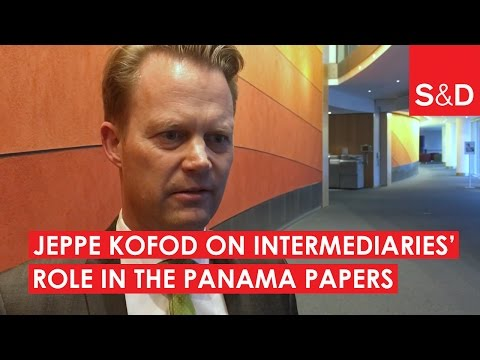 Embedded thumbnail for Jeppe Kofod on the Role of Intermediaries | Panama Papers