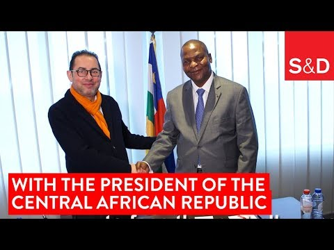 Embedded thumbnail for Gianni Pittella and the President of the Central African Republic Touadéra