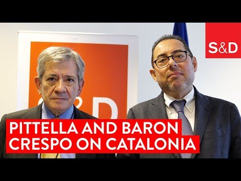 Embedded thumbnail for Gianni Pittella and Enrique Barόn Crespo on Catalonia