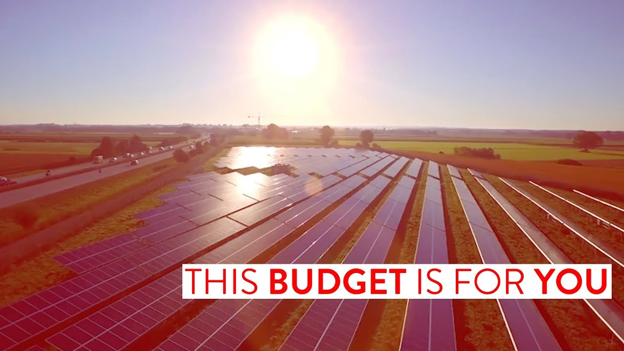 Embedded thumbnail for This Budget is for you!