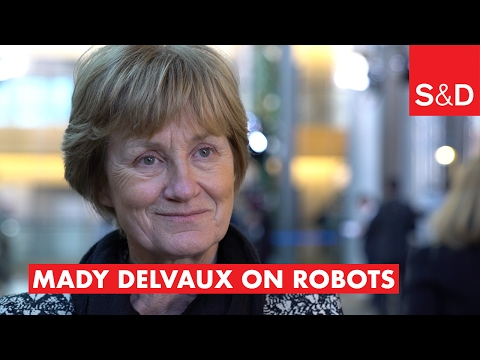 Embedded thumbnail for  Mady Delvaux on Robots