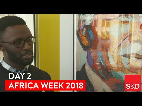 Embedded thumbnail for AFRICA WEEK - Video Diary Day 2