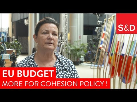 Embedded thumbnail for Constanze Khrel reacts on the cuts in EU Budget for cohesion policy