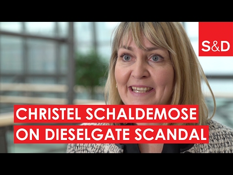 Embedded thumbnail for  Christel Schaldemose on Dieselgate Scandal