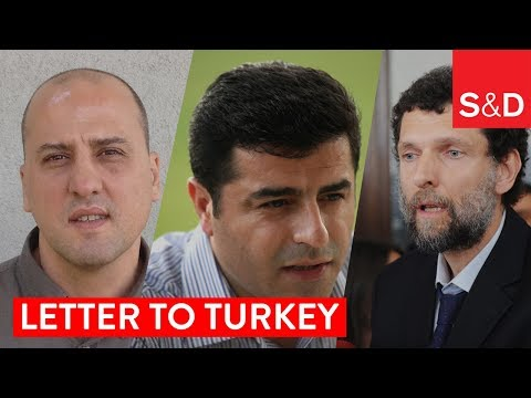 Embedded thumbnail for Dear Osman Kavala, Ahmet Şik and Selehattin Demirtaş...