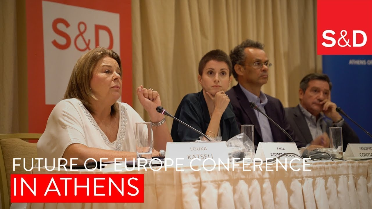 Embedded thumbnail for Progressive Society in Athens - Future of Europe conference