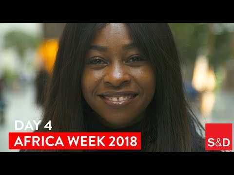 Embedded thumbnail for AFRICA WEEK - Video Diary Day 4
