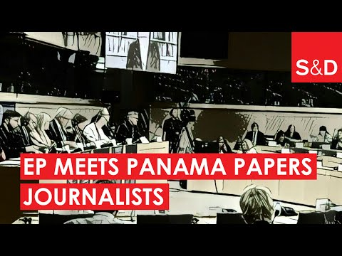 Embedded thumbnail for The European Parliament meets the investigative journalists of the Panama Papers