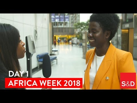 Embedded thumbnail for AFRICA WEEK - Video Diary Day 1