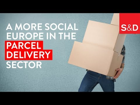 Embedded thumbnail for A More Social Europe in the Parcel Delivery Sector