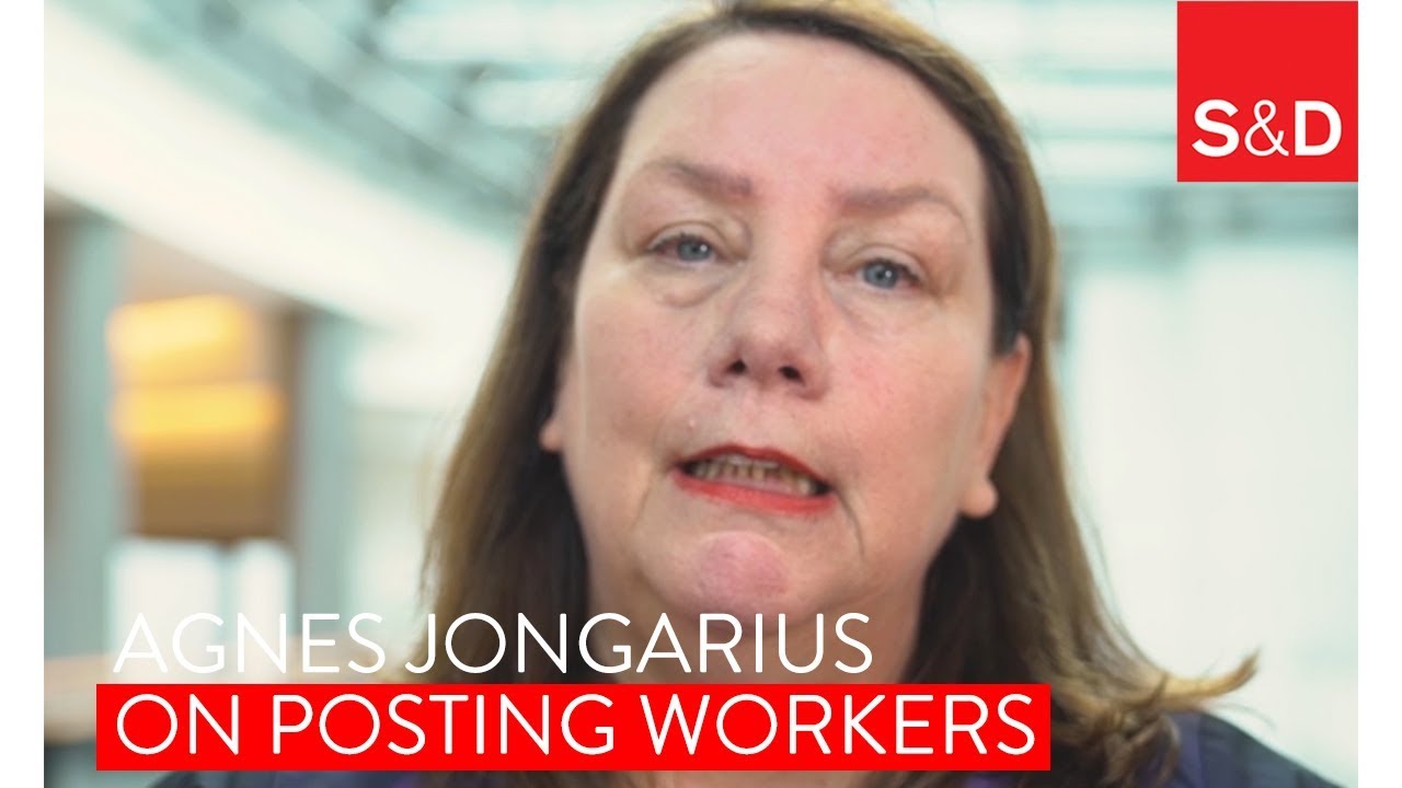 Embedded thumbnail for Agnes Jongerius on posting of workers!