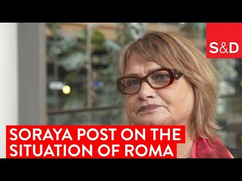 Embedded thumbnail for Soraya Post on the Situation of Roma in Europe