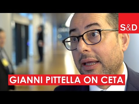 Embedded thumbnail for Gianni Pittella on CETA