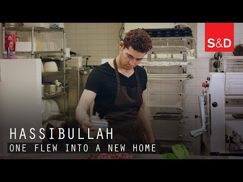 Embedded thumbnail for One flew into a new home - The Story of Hassibullah