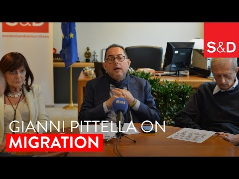 Embedded thumbnail for Gianni Pittella on Migration